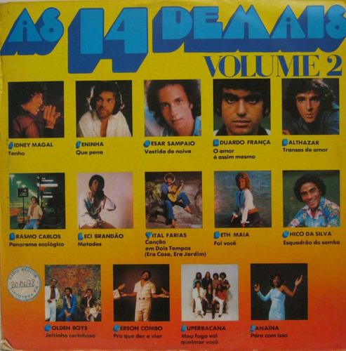 as 14 demais vol. 2 - diversos - lp vinil polyfar 1978