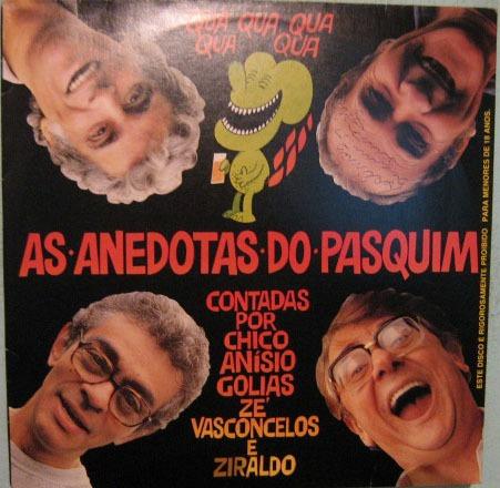 as anedotas do pasquim - contadas p/chico/golias/ziraldo/zé