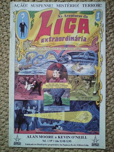 as aventuras da liga extraordinária vol.1 n.1, alan moore