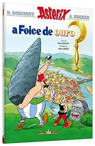 as aventuras de asterix vol 2 a foice de ouro de uderzo a e