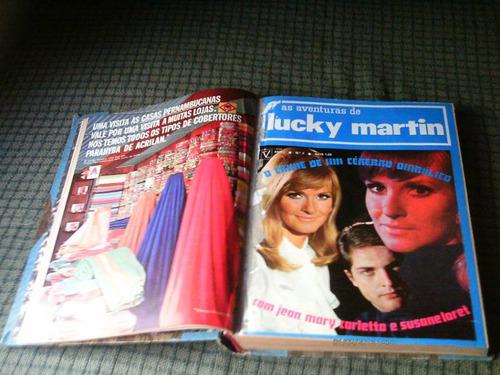as aventuras de lucky martin 01 ao 10 enc. fotonovela vecchi