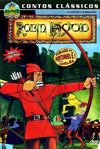 as aventuras de robin hood desenho infantil dublado r 17 00