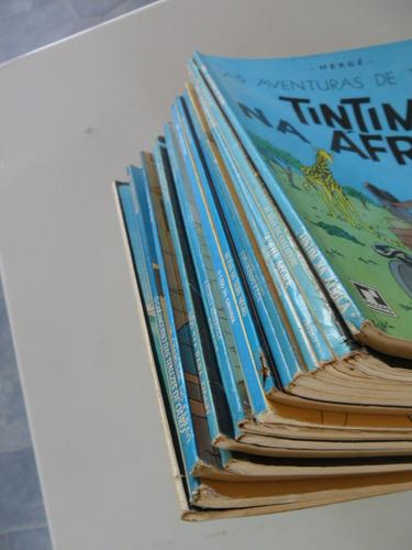 as aventuras de tintim! vários! r$ 25,00 cada! ed. record!