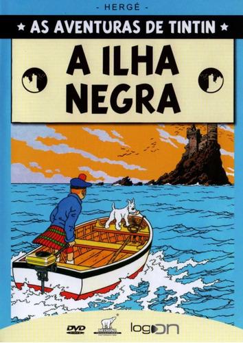as aventuras de tintin - a ilha negra - dvd - colin o'meara