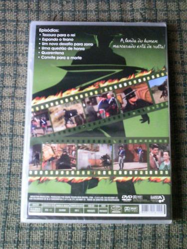 as aventuras de zorro vol. 4 2* temporada - guy willians dvd