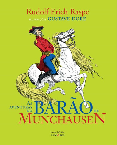 as aventuras do barão de munchausen - rudolf eirch raspe