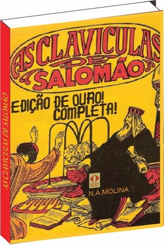 as clavículas de salomão edição de ouro completa livro novo
