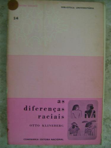 as diferenças raciais otto klineberg