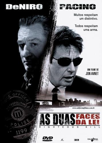 as duas faces da lei (dvd original)