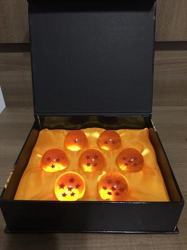 as esferas do dragão - dragon ball z - tamanho 3,5cm
