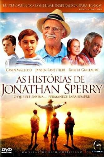as histórias de jonathan sperry - dvd -graça filmes original