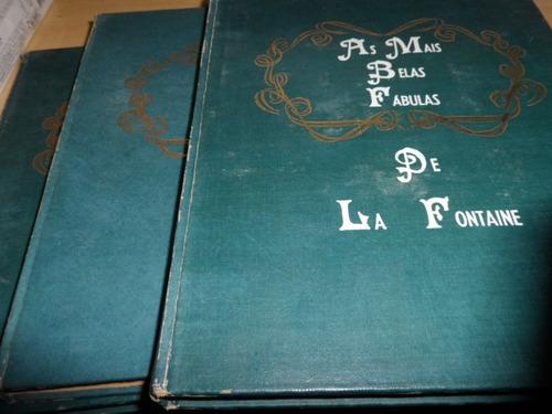 as mais belas fábulas de la fontaine - 3 volumes