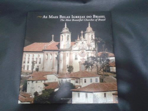 as mais belas igrejas do brasil - edição bílingue - novo