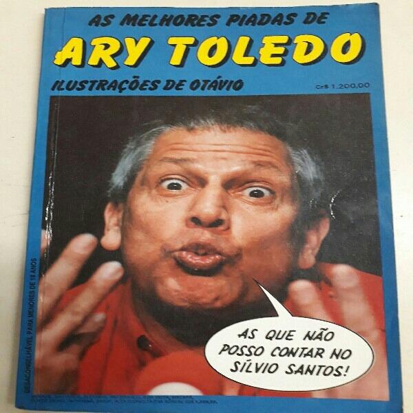 livro de piadas do ary toledo