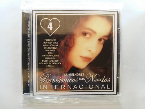 as melhores românticas das novelas 4 internacional - cd raro