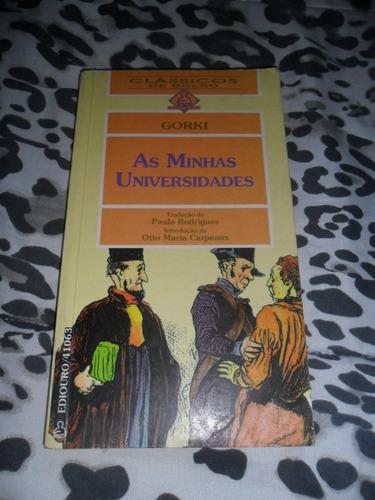 as minhas universidades - gorki (clássicos de bolso)