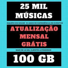 Musicas Top Spotify 100gb Sertanejo Funk Pop Eletro