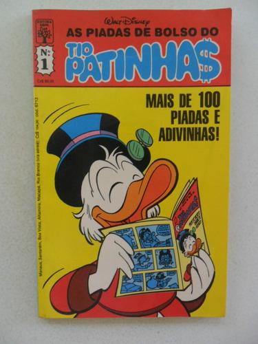 as piadas de bolso do tio patinhas nº 1! mai 1988!