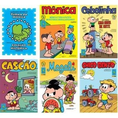 as primeiras revistas de turma da monica 42