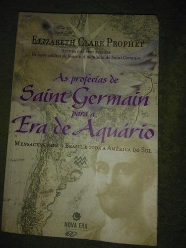 as profecias de saint germain para a era de aquario