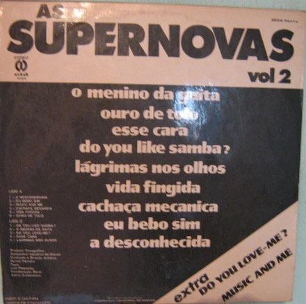 as supernovas - volume 2