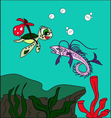 as viagens de oliva - a real história da tartaruga marinha