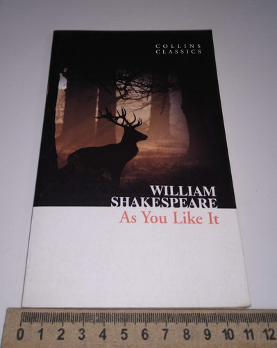 as you like it - william shakespeare - livro em inglês
