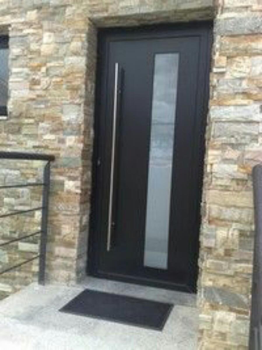 Asa acero inoxidable metros ideal p madera 985 for Puertas para casa exterior