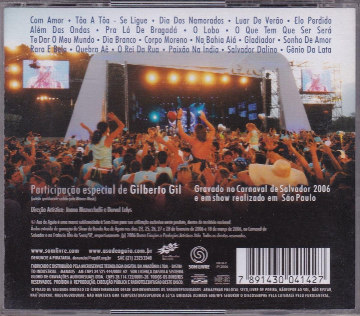 asa de aguia ao vivo 2006