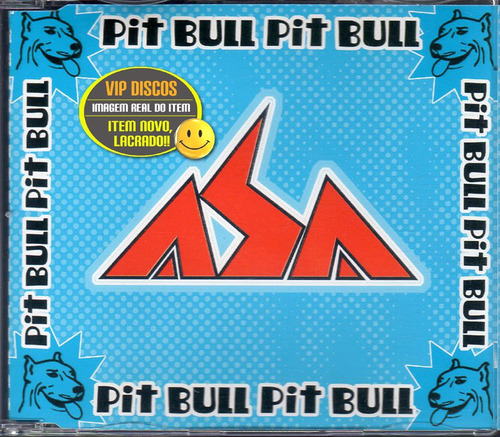 asa de águia cd single pit bull - raro