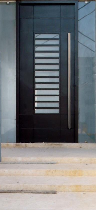 Asa o jaladera para puerta de acceso de 2 metros de largo for Puertas de acceso principal