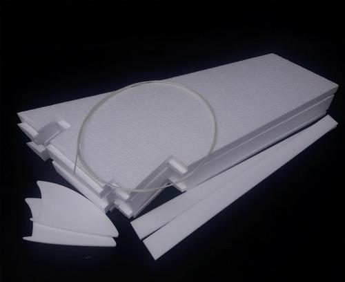 asa zagi 100cm eps (isopor f4) kit c/ montante e linkagem
