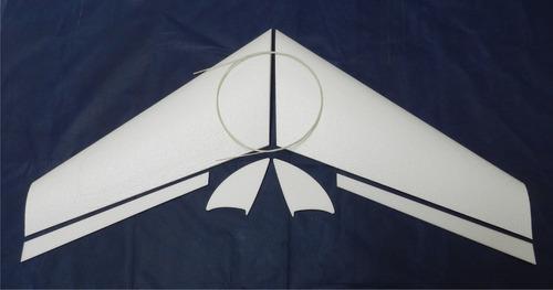asa zagi 120cm em eps (isopor f4) kit básico