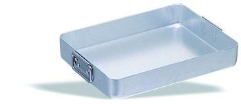 asadera de aluminio con asas móviles pujadas española