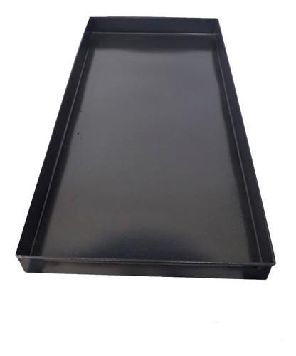 asadera enlozada 34 x 68 x 4,6 cm para horno pizzero