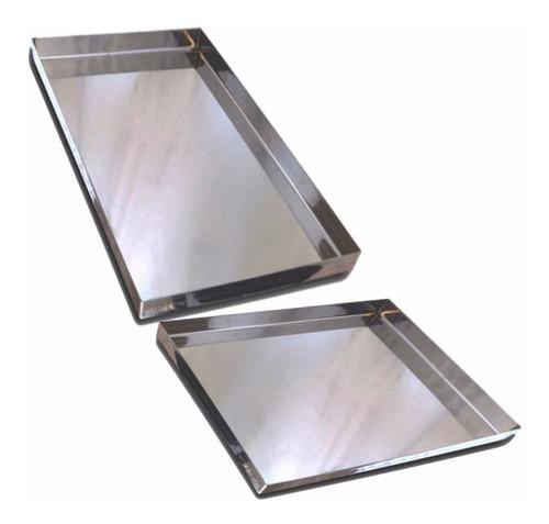 asadera placa 40x30x2 acero soldada reforzada bandeja masas