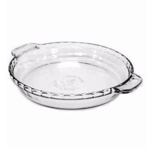 asadera tortera 23 cm  de vidrio para horno made in usa