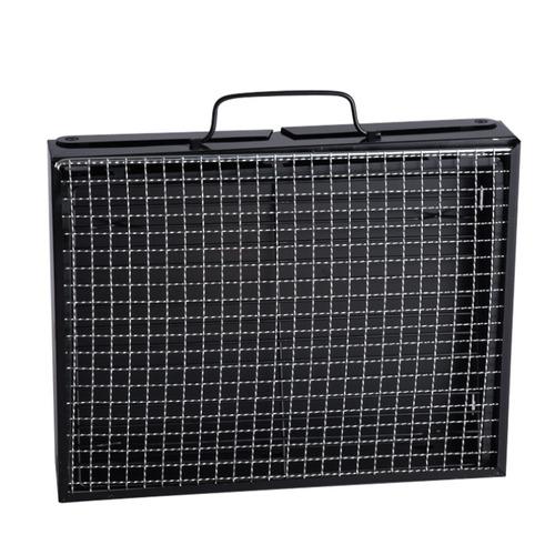 asador a carbon plegable carbon camping gr l46 x 30 x 23 cms