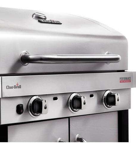 asador a gas 3 quemadores + lateral char broil 467750017
