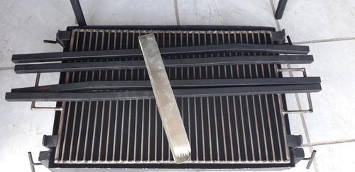 asador carbon cal 16 .40x.60x.80 alto