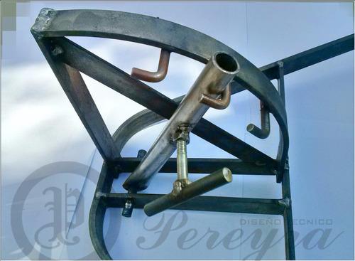 asador criollo en hierro forjado ( mediano ) oferta!