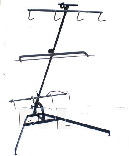 asador criollo estaca 3 cruces regulables 14mm grande 120cm