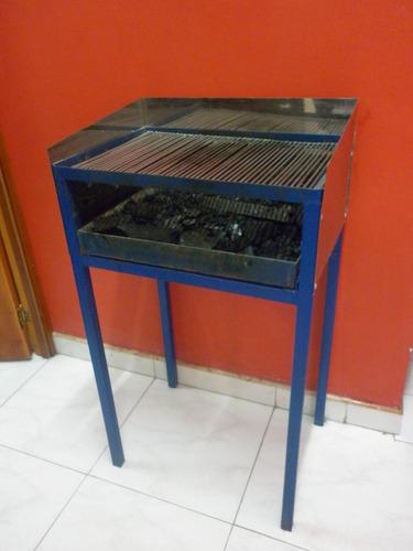 asador de carbón