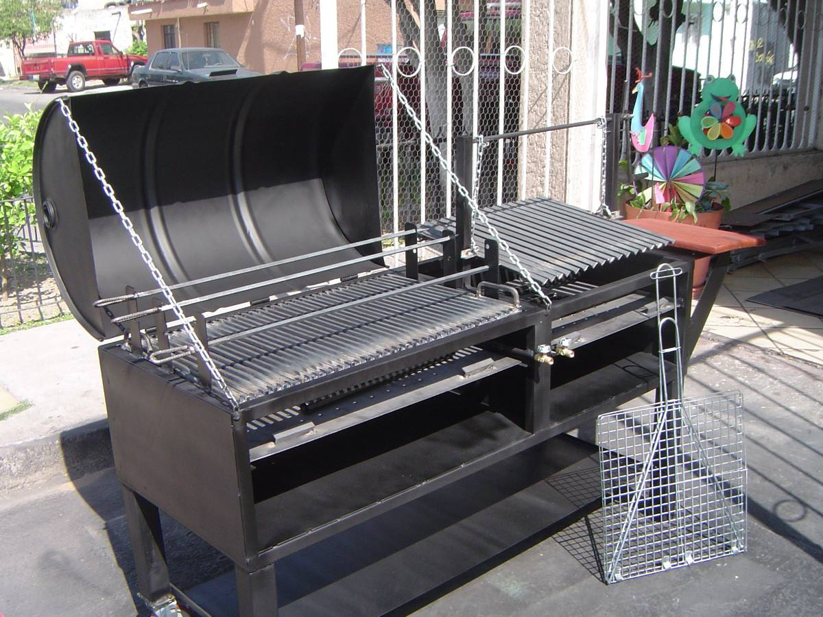 Asador de carne argentino mixto 7 en mercado libre for Fabricacion de jardines