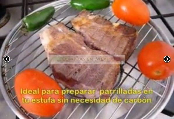 Asador de carne para parrilladas asador de estufa 270 for Comida sin estufa