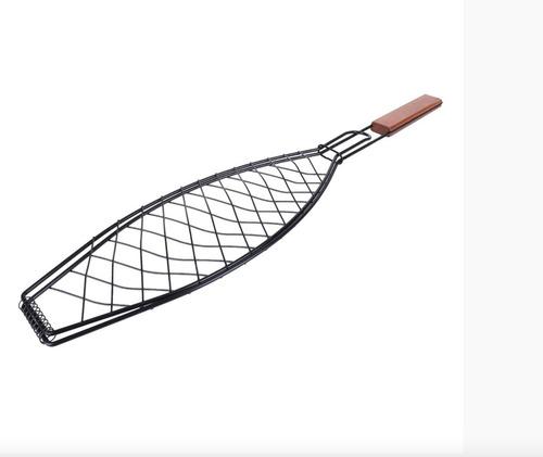 asador de pescado pinzas para poner pescado a la parrilla