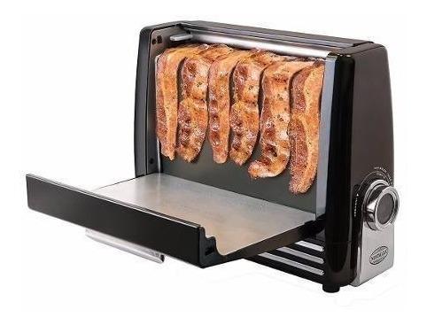 asador de tocino nostalgia bcn6bk express tostadora tocineta