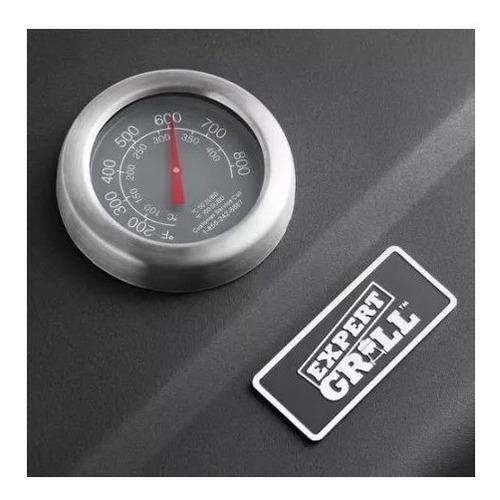 asador expert grill heavy duty para carbon parrilla 24in