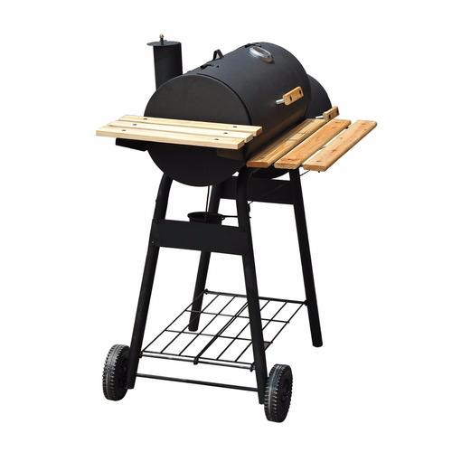 asador exterior carbón