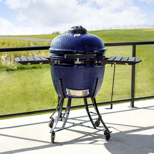 asador grill kamado ceramico tipo huevo egg grill pal 24 in